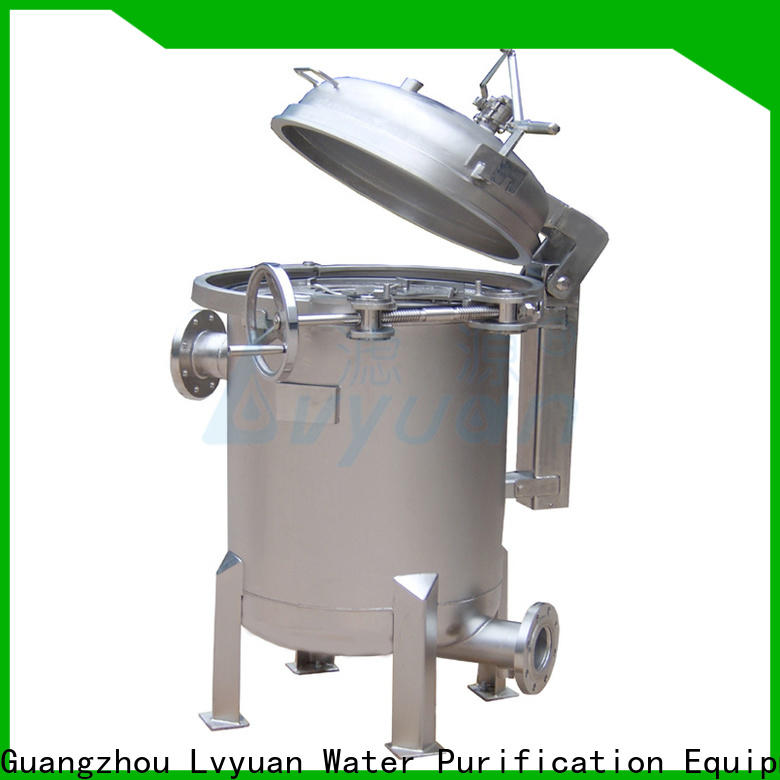 efficient stainless steel filter housing housing for oil fuel