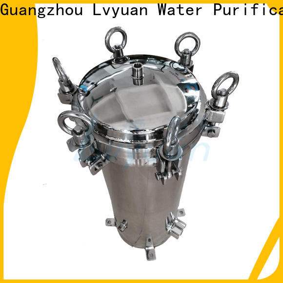 Lvyuan professional stainless steel water filter housing housing for food and beverage