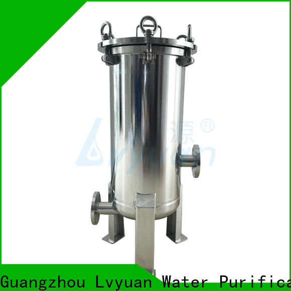 Lvyuan high end stainless filter housing manufacturer for industry