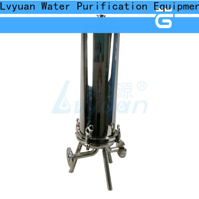 Lvyuan porous stainless filter housing with core for sea water desalination