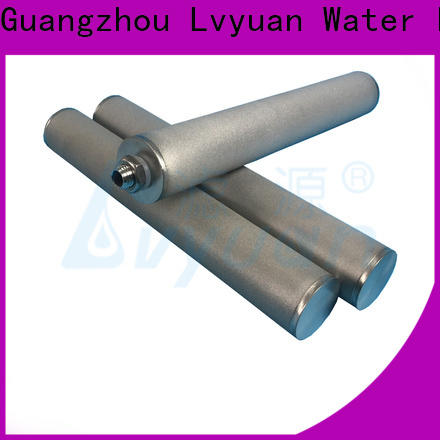 titanium sintered filter suppliers manufacturer for industry