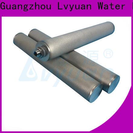 titanium sintered filter suppliers manufacturer for industry