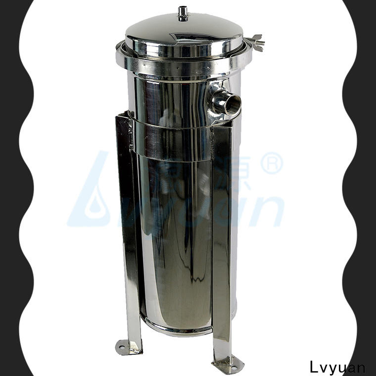Lvyuan porous ss cartridge filter housing with core for sea water desalination