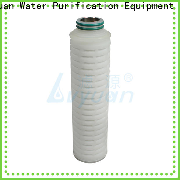 Lvyuan membrane pleated filter element replacement for food and beverage