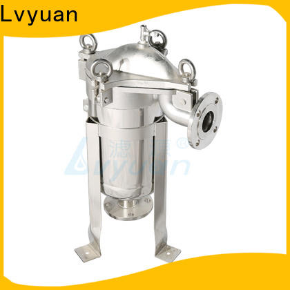 Lvyuan porous stainless water filter housing with core for food and beverage