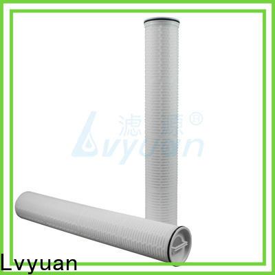 Lvyuan water high flow filters manufacturer for sea water desalination