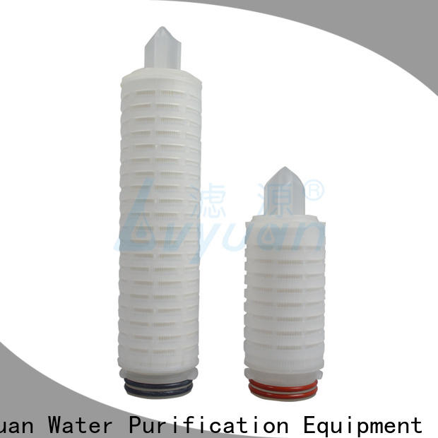 Lvyuan membrane pleated filter cartridge replacement for sea water desalination