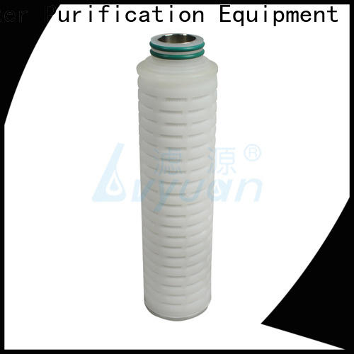 Lvyuan safe water filter cartridge manufacturer for sea water desalination