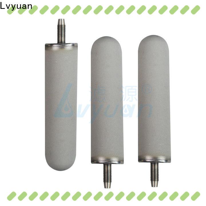 Lvyuan professional sintered powder metal filter manufacturer for industry