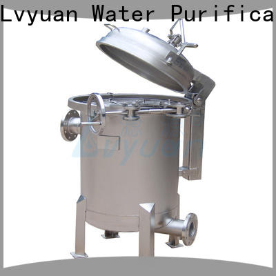 Lvyuan professional ss bag filter housing manufacturer for sea water desalination