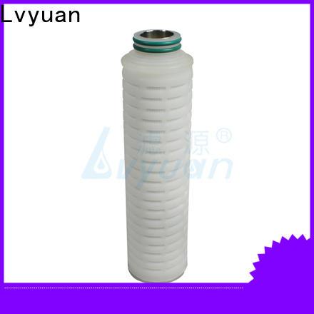 ptfe pleated filter cartridge manufacturer for diagnostics