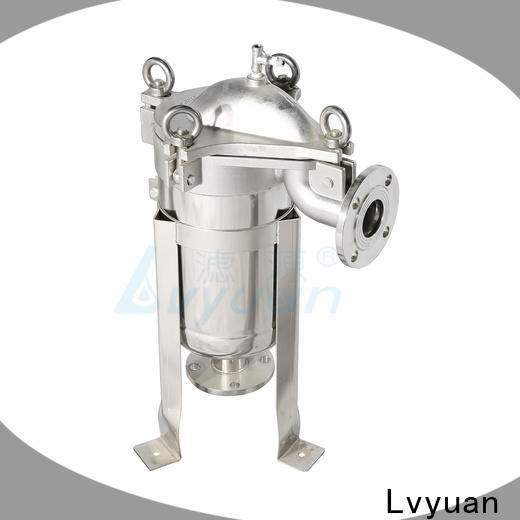 Lvyuan ss filter housing with fin end cap for oil fuel