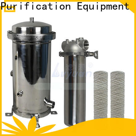 titanium stainless steel filter housing with fin end cap for sea water treatment