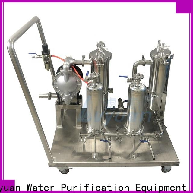 Lvyuan stainless steel water filter housing with core for sea water desalination