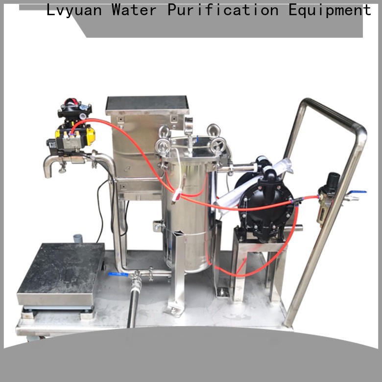 Lvyuan stainless steel water filter housing with core for oil fuel