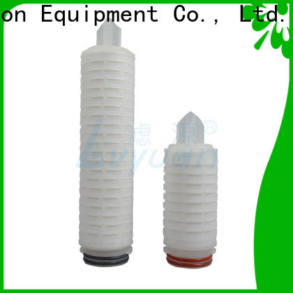 Lvyuan ptfe pleated water filters replacement for liquids sterile filtration