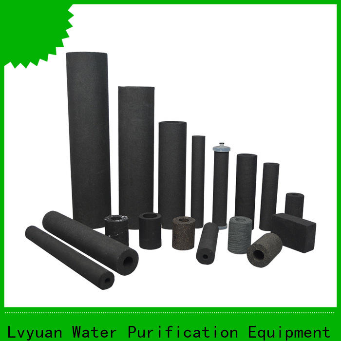 Lvyuan sintered plastic filter supplier for food and beverage
