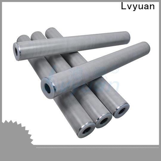 Lvyuan sintered metal filter rod for industry