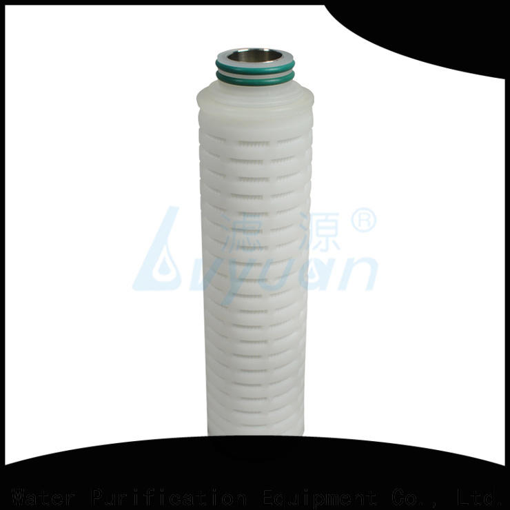 Lvyuan ptfe pleated water filters replacement for organic solvents