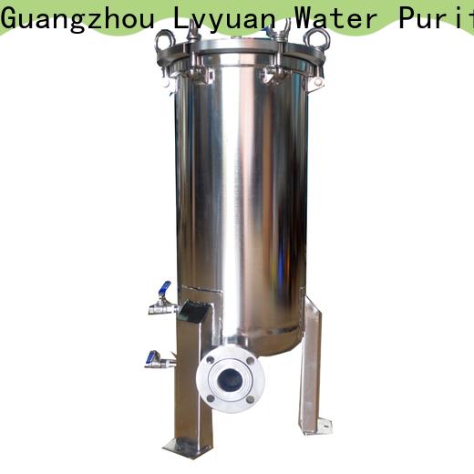 Lvyuan efficient ss filter housing rod for sea water desalination