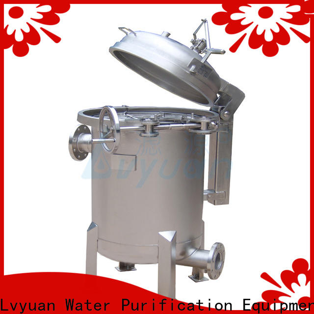 Lvyuan stainless water filter housing rod for oil fuel