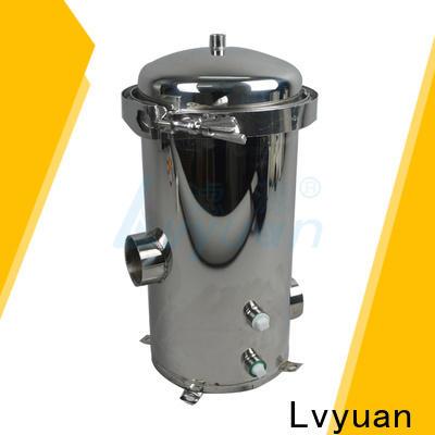 Lvyuan ss bag filter housing housing for oil fuel