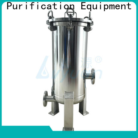 professional ss bag filter housing with core for food and beverage