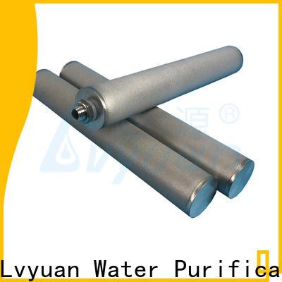 Lvyuan titanium sintered filter suppliers manufacturer for sea water desalination