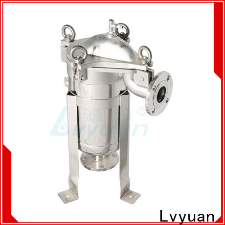 Lvyuan professional stainless steel water filter housing manufacturer for oil fuel