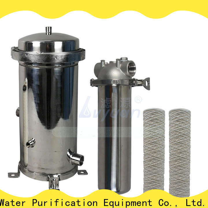 Lvyuan titanium stainless water filter housing housing for industry