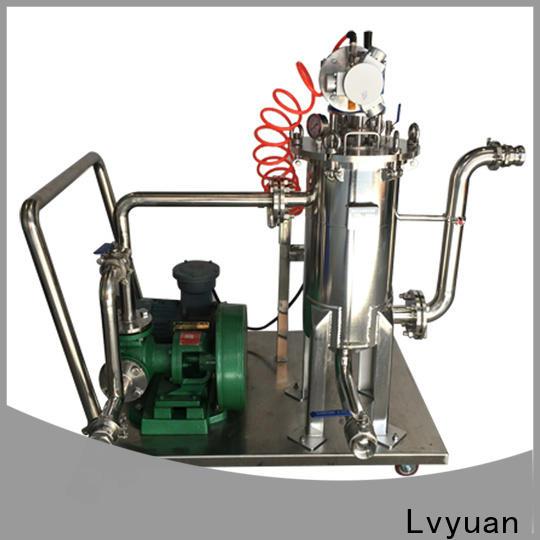 Lvyuan stainless steel water filter housing housing for sea water desalination