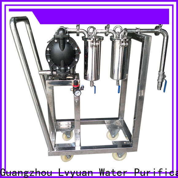Lvyuan professional ss bag filter housing housing for sea water treatment