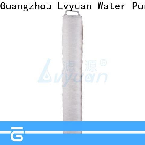 Lvyuan safe high flow filter cartridge manufacturer for industry