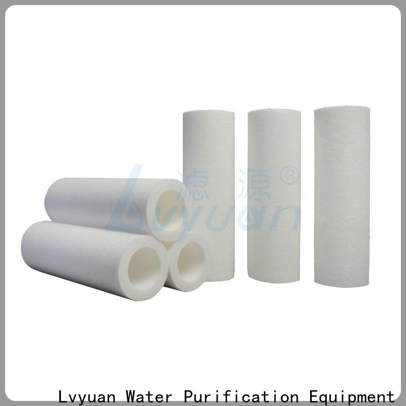 fast delivery melt blown filter supplier for food and beverage