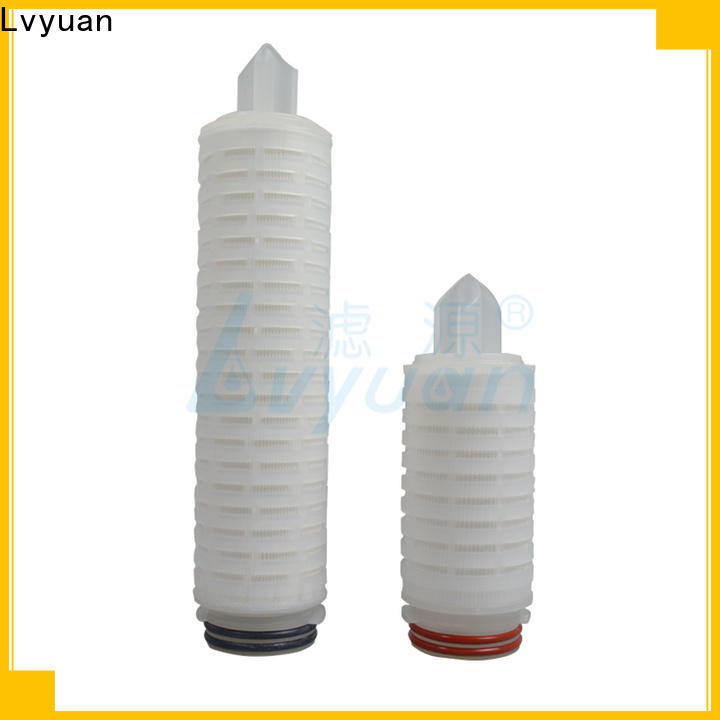 nylon pleated filter manufacturers with stainless steel for diagnostics