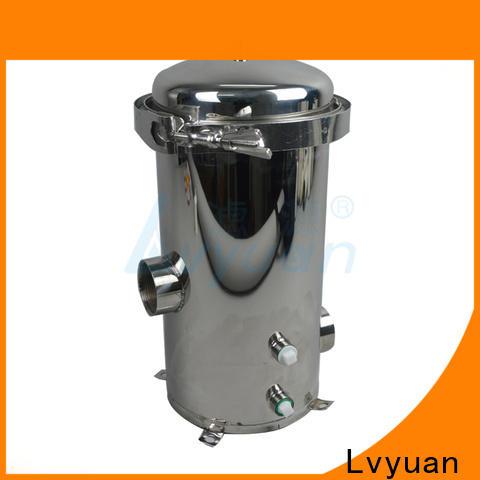 Lvyuan best ss cartridge filter housing housing for oil fuel