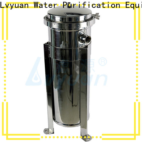 Lvyuan stainless water filter housing housing for industry