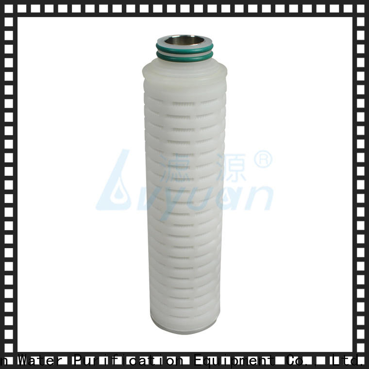 pvdf pleated water filters replacement for liquids sterile filtration