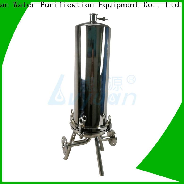 Lvyuan stainless filter housing manufacturer for oil fuel