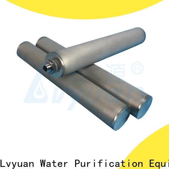 Lvyuan block sintered carbon water filter manufacturer for industry