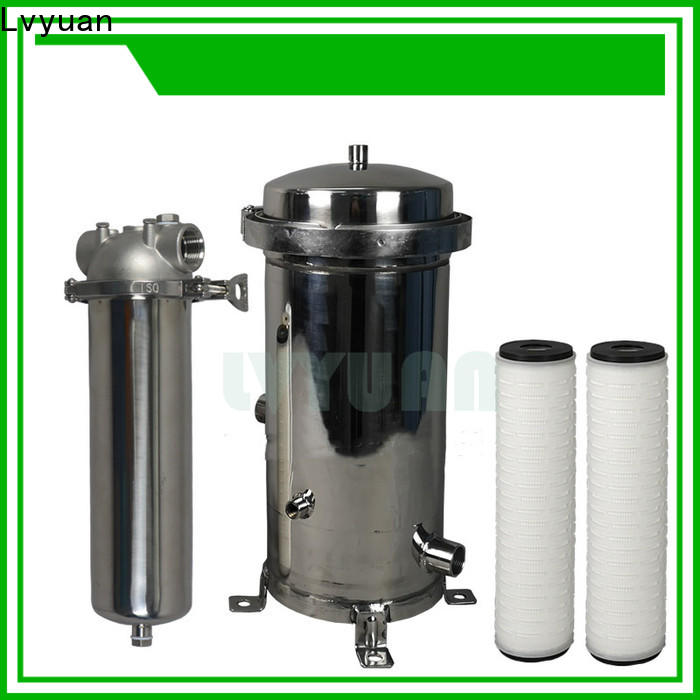 Lvyuan best ss filter housing manufacturers manufacturer for oil fuel