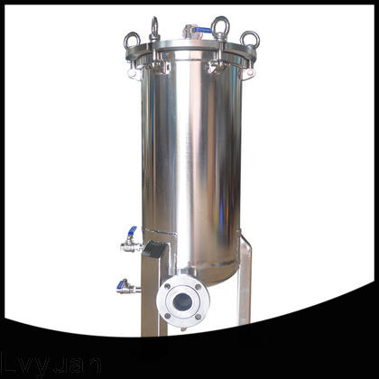 porous ss cartridge filter housing with core for sea water desalination