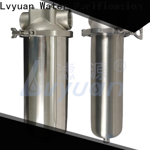 Lvyuan efficient stainless water filter housing rod for sea water treatment