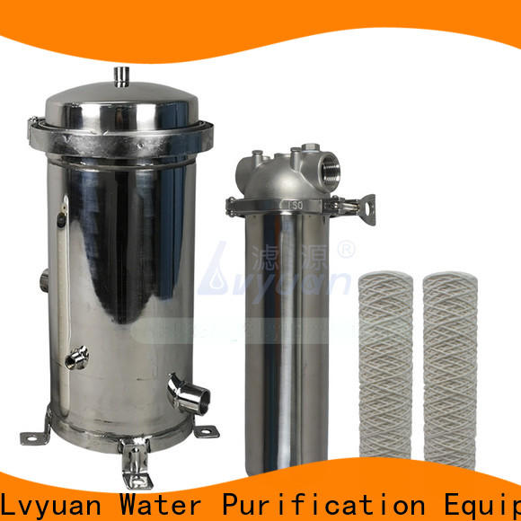 Lvyuan professional ss filter housing housing for sea water treatment