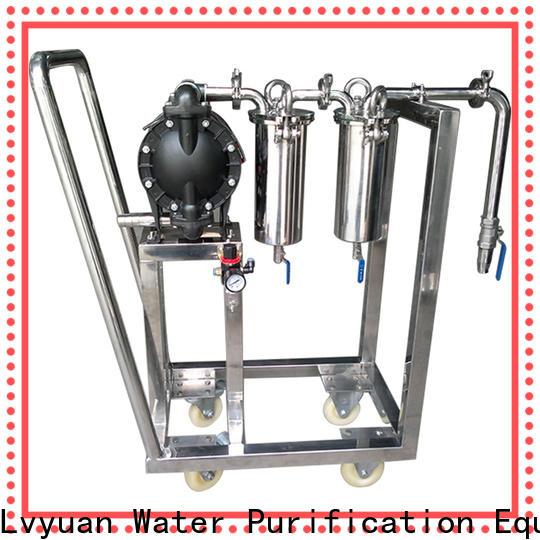Lvyuan professional stainless water filter housing manufacturer for food and beverage