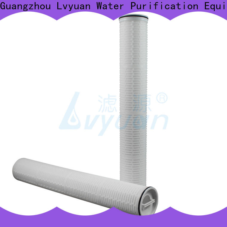 Lvyuan professional high flow water filter cartridge supplier for sale