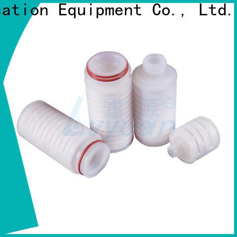 Lvyuan pleated filter cartridge manufacturer for liquids sterile filtration