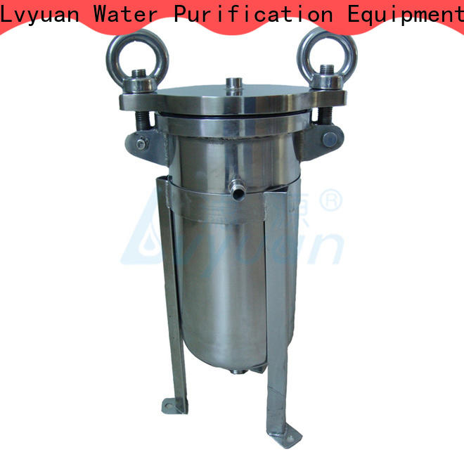 Lvyuan stainless steel water filter housing rod for sea water desalination