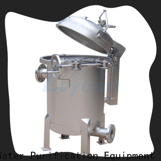 Lvyuan high end stainless steel cartridge filter housing housing for food and beverage