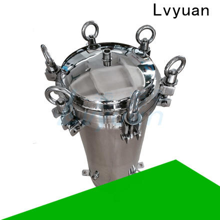 Lvyuan ss filter housing rod for sea water treatment